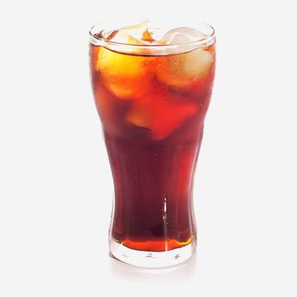 Boisson fraîche de grande marque coca cola