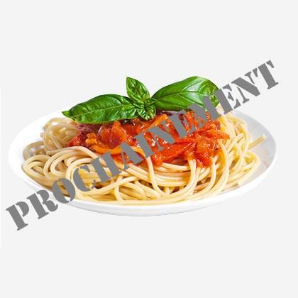 Pâte sauce tomate ou sauce crème fraiche